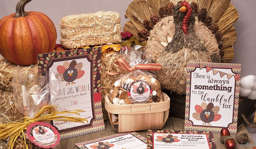 Gobble Till You Wobble With These Thanksgiving Party Supplies