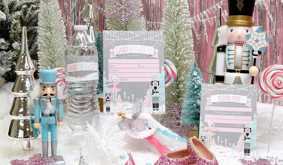 Magical Nutcracker Land of Sweets Party Supplies