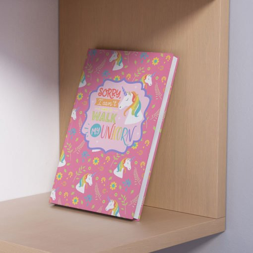 unicorn hardcover journal