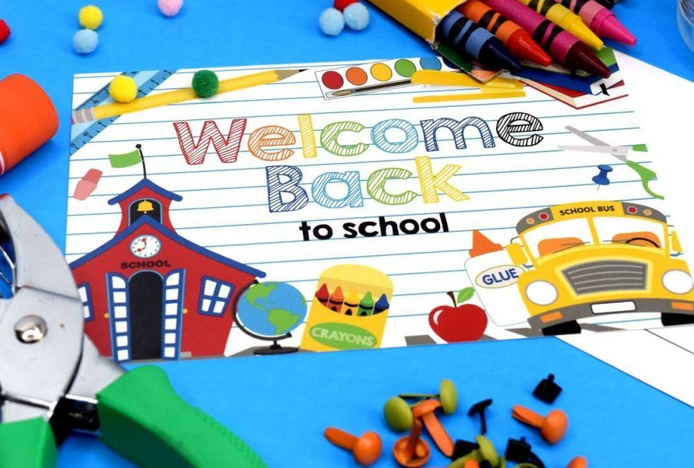 Welcome Back to School Postcards for Students