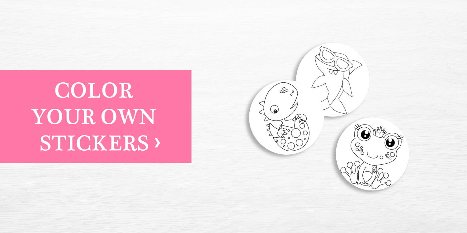 Color Your Own Stickers
