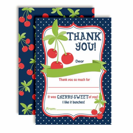 Cherry Sweet Thank You Cards