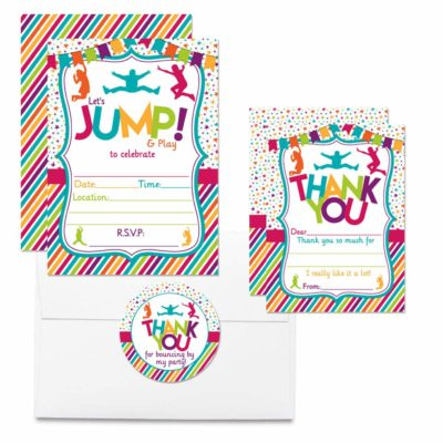 Jump, Bounce & Play Jumping Birthday Party Bundle (Girl)