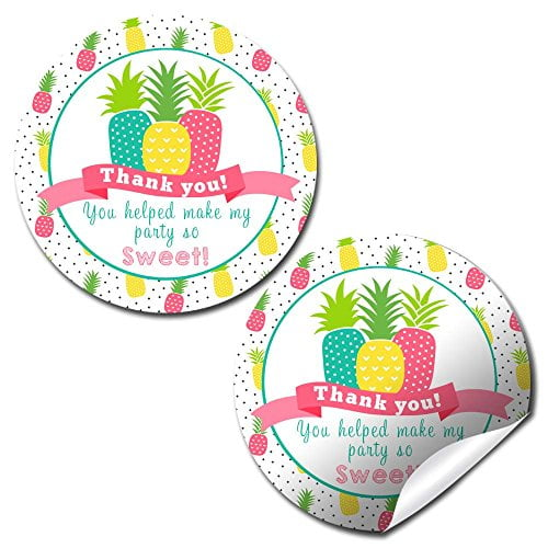 Pineapple Party Stickers